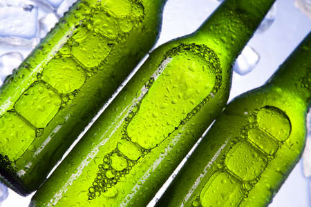 Cold beer bottle Stock Photo - 7546186