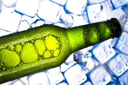 Cold beer bottle Stock Photo - 7546181