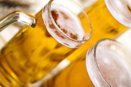 draughts: Beer