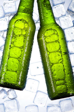 Cold beer bottle Stock Photo - 7546189