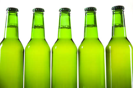 adjuvant:  Bottle of beer  Stock Photo