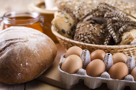 Variety of whole wheat bread Stock Photo - 8314857