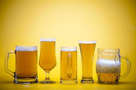 Beer glass photo
