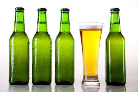 Bottle of beer photo
