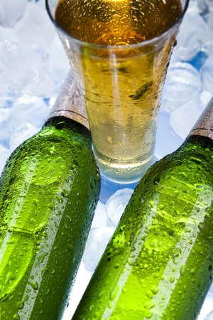 Bottles Of Beer  Stock Photo