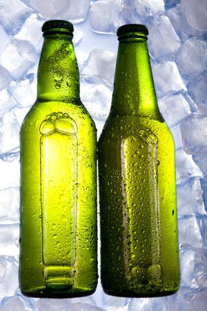 adjuvant: Bottles Of Beer  Stock Photo