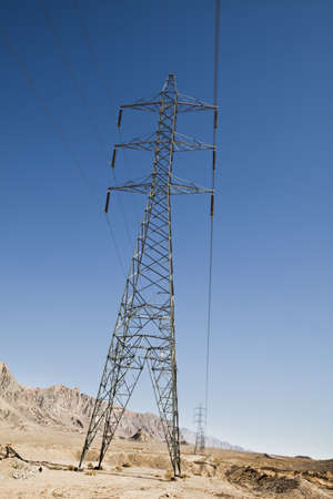 High voltage line Stock Photo - 8318135