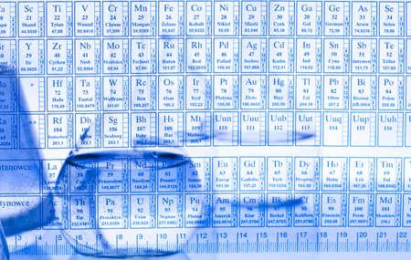 Chemical formulas photo