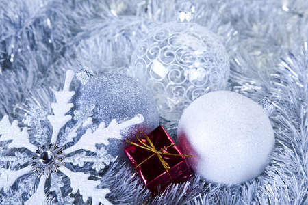 Traditional Christmas Baubles Stock Photo - 8253101