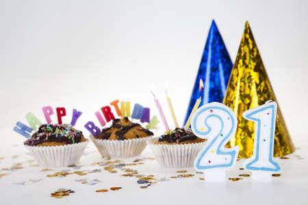 Birthday 21 Stock Photo - 8252742