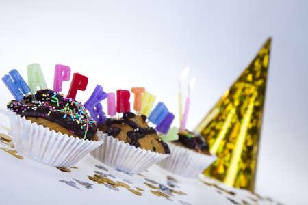 Happy birthday background Stock Photo - 8252765