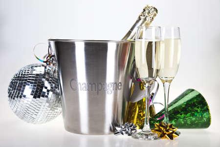 Champagne,New Year's, Celebration Stock Photo - 8253025
