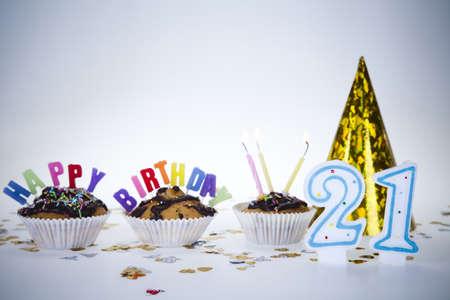 Birthday 21 Stock Photo - 8252749