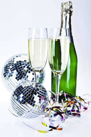 Champagne,New Year's, Celebration Stock Photo - 8252966