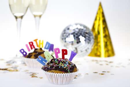 Happy birthday background Stock Photo - 8252697