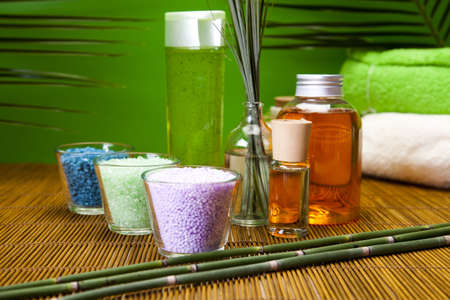 scent: Spa and body care composition  Stock Photo