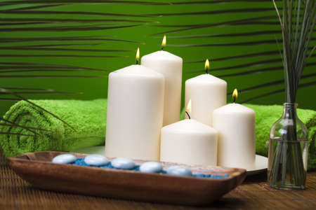 traditional wellness: Spa still life with zen