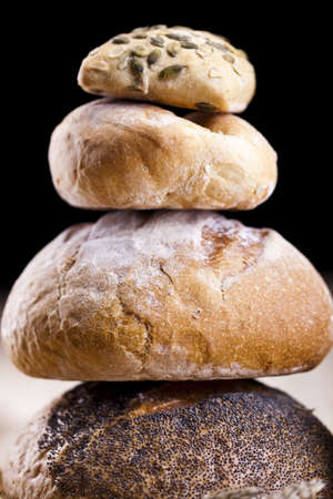 Bread  background, Breakfast Stock Photo - 9963537
