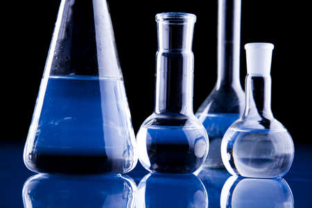 Laboratory glassware Stock Photo - 8564172