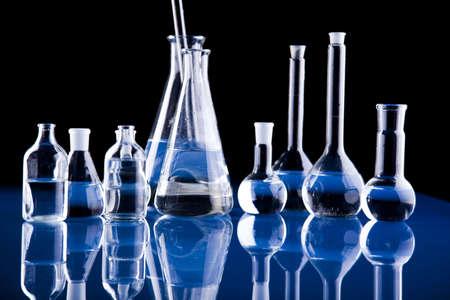 material de vidrio: Vasos Foto de archivo