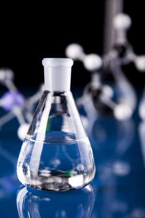 Biochemistry and atom   photo