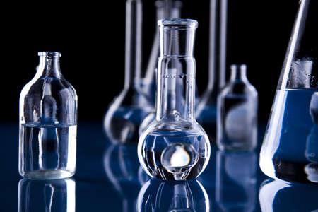 Glass in laboratory Stock Photo - 8564409
