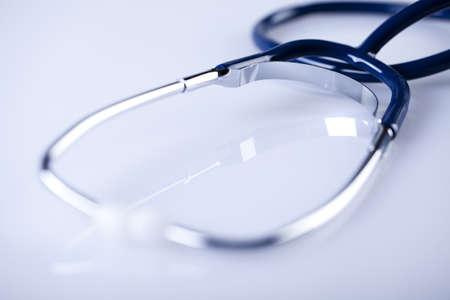 pharmacologist: Stethoscope isolated on white background