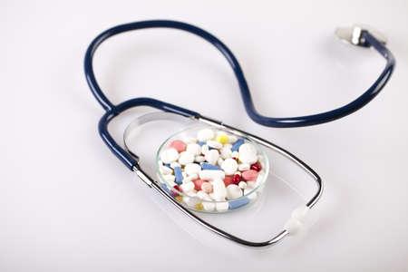 pharmacologist: Stethoscope Stock Photo