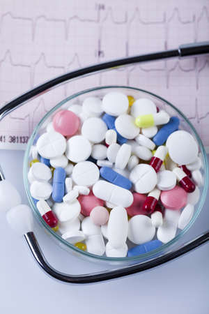 pharmacologist: Tablets & Medicines and Stethoscope