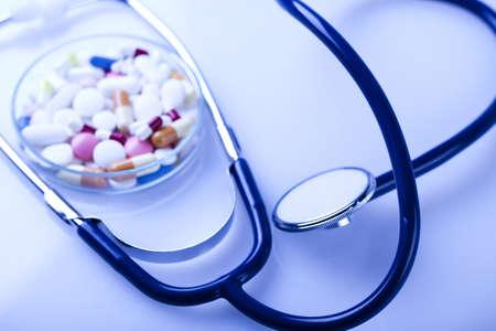 pharmacologist: Medical stethoscope Stock Photo