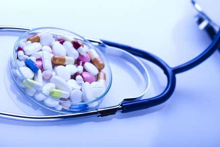 Medical stethoscope Stock Photo - 8564362