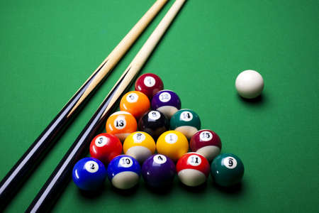 Close up shot of pool ball Stock Photo - 8788903