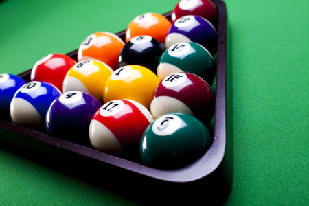 number eleven: Billiard game