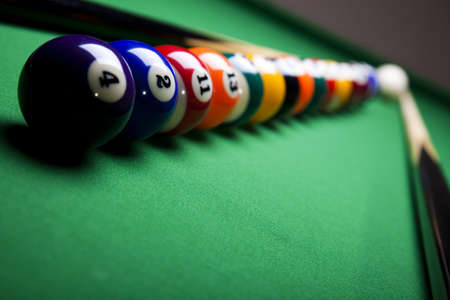 table set: Billiard ball