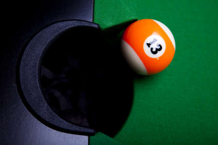 Billiard ball  photo