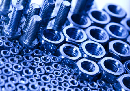 Nuts and bolts Stock Photo - 8786894