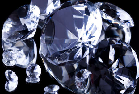 Diamond - a hard stone Stock Photo - 8786847