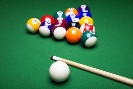 Pool game  photo