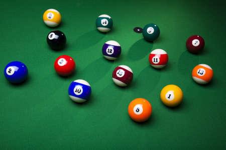 Billiard balls, pool Stock Photo - 9126601
