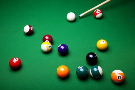 9 ball: Billiard game