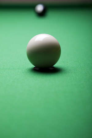 9 ball: Snooker player