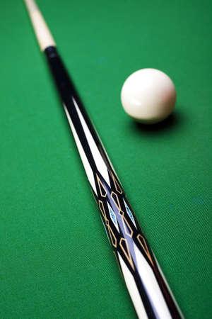 Billiard ball close up photo