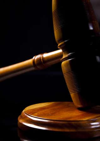 arbitrar: Madera abogado de martillo