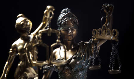 Scales of Justice Stock Photo - 9126804