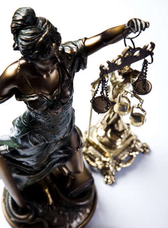 high scale: Statue of lady justice