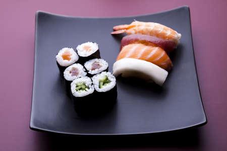Japanese mix sushi  photo