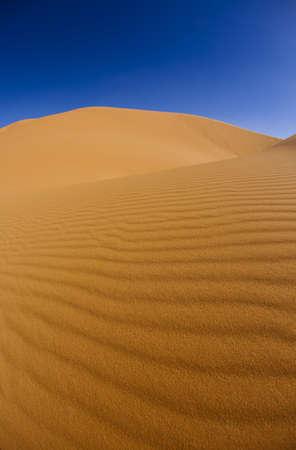 inhospitable: Desert dunes in Morocco