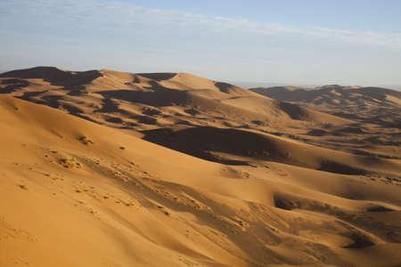 merzouga: Desert landscape, merzouga, marocco