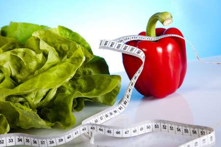 Plantaardige fitness Stockfoto