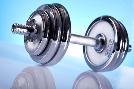 Fitness, dumbell Stock Photo - 9966930